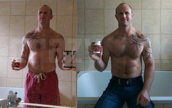 D-Bal vor und nacher Fotos